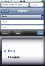 iMobislim registration